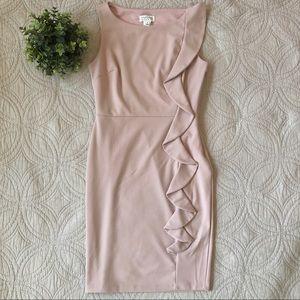 Enfocus Studio | Blush Pink Cocktail Style Dress